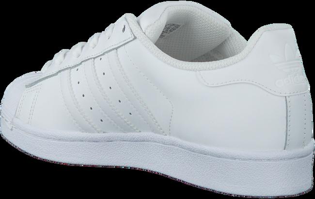 Weiße ADIDAS Sneaker SUPERSTAR DAMES - large