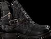 Schwarze A.S.98 Biker Boots 207202 - small