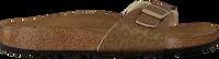 Goldfarbene BIRKENSTOCK Pantolette MADRID  - medium