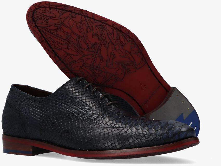 Blaue FLORIS VAN BOMMEL Business Schuhe 19104 - larger