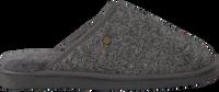 Graue WARMBAT Hausschuhe CLASSIC HERRINGBONE  - medium