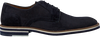 Blaue MAZZELTOV Business Schuhe 5406  - small