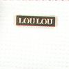 Weiße LOULOU ESSENTIELS Umhängetasche 09CROSSBODY PALETTE  - small