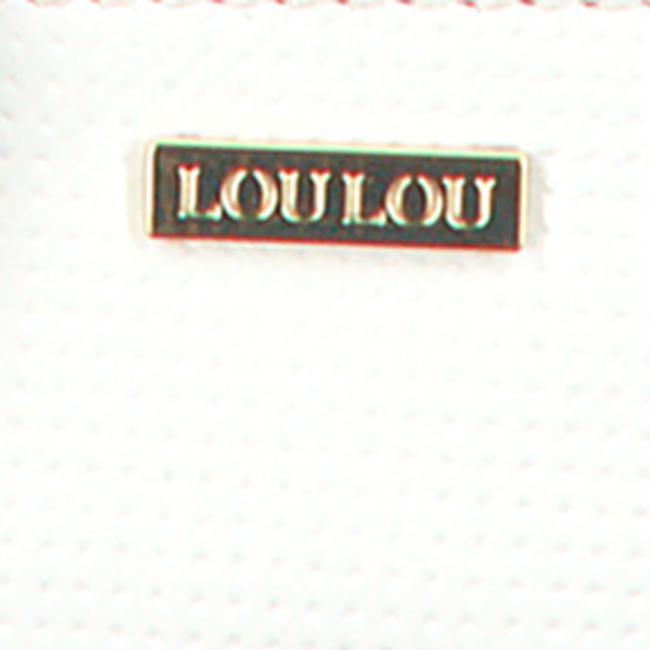 Weiße LOULOU ESSENTIELS Umhängetasche 09CROSSBODY PALETTE  - large