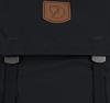 Schwarze FJALLRAVEN Rucksack FOLDSACK - small