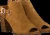 Cognacfarbene NOTRE-V Sandalen 45283  - small