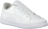 Weiße PUMA Sneaker BASKET CRUSH PATENT AC  - medium