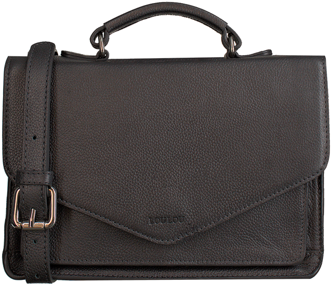 Graue BY LOULOU Handtasche PEARL SHINE - large