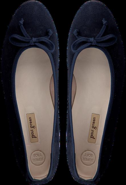 Blaue PAUL GREEN Ballerinas 2598-246  - large