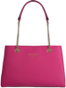 Rote GUESS Handtasche ROBYN GIRLFRIEND SATCHEL  - small
