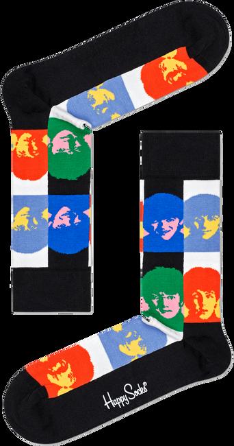 Weiße HAPPY SOCKS Socken BEATLES ALL TOGETHER NOW SOCK  - large