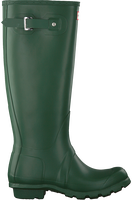 Grüne HUNTER Gummistiefel WOMENS ORIGINAL TALL - medium