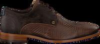 Braune REHAB Business Schuhe SOLO ZIGZAG  - medium