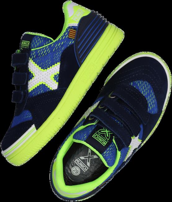 Blaue MUNICH Sneaker low G3 VELCRO  - large