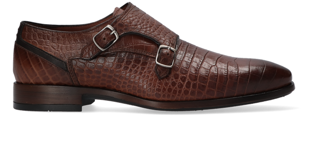 Braune GREVE Business Schuhe RIBOLLA 1446  - large