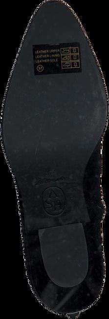 Schwarze ASH Stiefeletten FAMOUS  - large