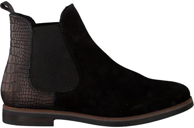 Schwarze OMODA Chelsea Boots 54A005 - large