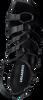 Schwarze LOLA CRUZ Sandalen 341Z10BK  - small