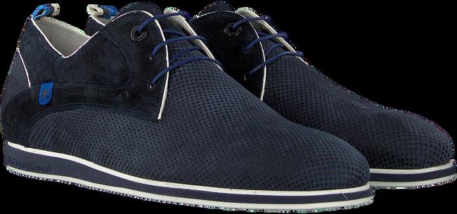 Blaue FLORIS VAN BOMMEL Business Schuhe 18202  - large