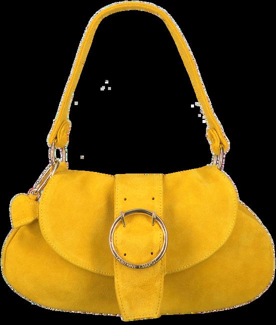 Gelbe FABIENNE CHAPOT Umhängetasche FLASH BAG  - large