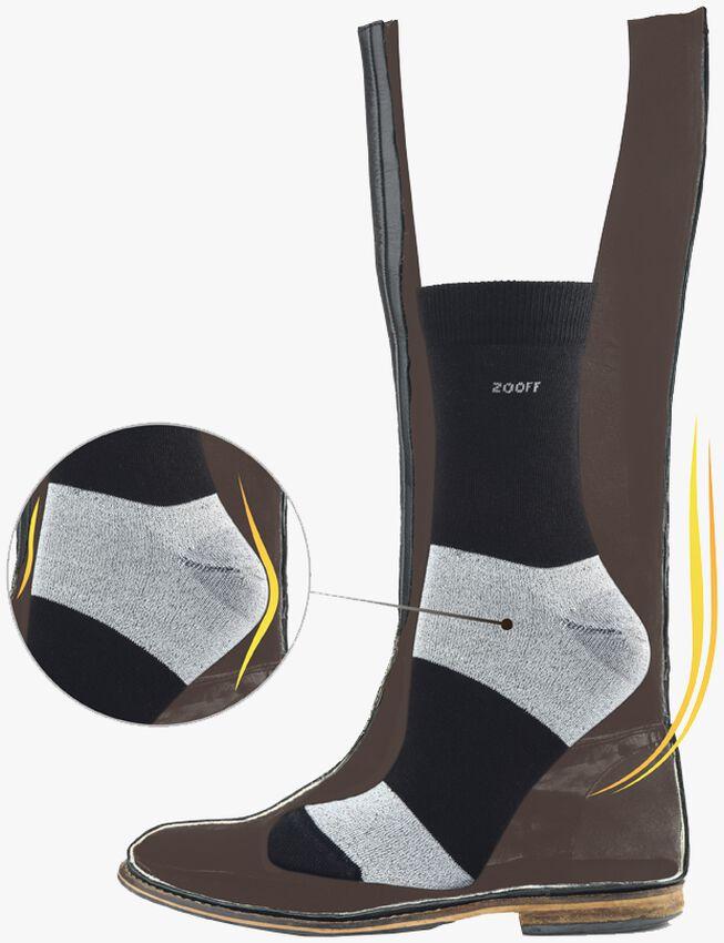 Schwarze ZOOFF Socken SKIM - larger