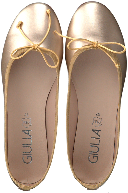 Goldfarbene GIULIA Ballerinas G.12.BALLERINA  - large