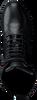 Schwarze VERTON Schnürboots KIRA05  - small