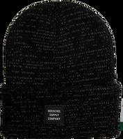 Schwarze HERSCHEL Mütze REFLECTIVE ABBOTT - medium