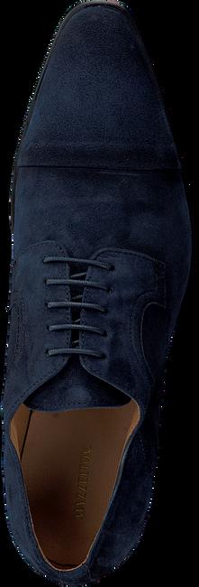 Blaue MAZZELTOV Business Schuhe 3817  - large