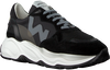 Schwarze WOMSH Sneaker low FUTURA  - small