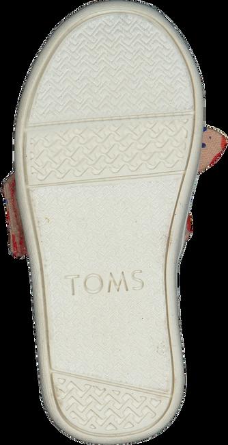 Rote TOMS Slipper ALPARGATA  - large
