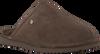 Braune WARMBAT Hausschuhe KEITH  - small