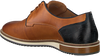 Cognacfarbene CYCLEUR DE LUXE Business Schuhe PLUS  - small