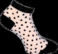 Schwarze MARCMARCS Socken NIKKIE  - medium