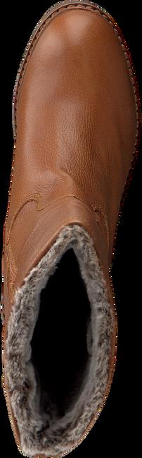 Cognacfarbene VERTON Hohe Stiefel ZIERIKZEE  - large