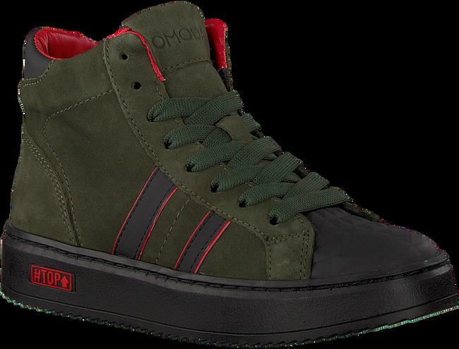 Grüne OMODA Sneaker high O1543  - large