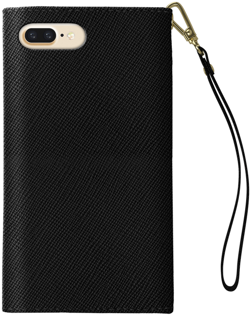 Schwarze IDEAL OF SWEDEN Handy-Schutzhülle MAYFAIR CLUTCH IPHONE 7/7SPLUS - large