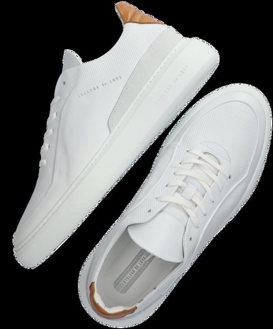Weiße CYCLEUR DE LUXE Sneaker low GREENLAND  - large