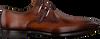 Cognacfarbene MAGNANNI Business Schuhe 19531/  - small