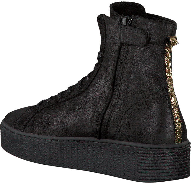 Schwarze STUDIO MAISON Sneaker CREEPER HIGH - large