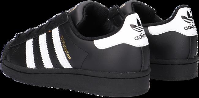 Schwarze ADIDAS Sneaker low SUPERSTAR J  - large