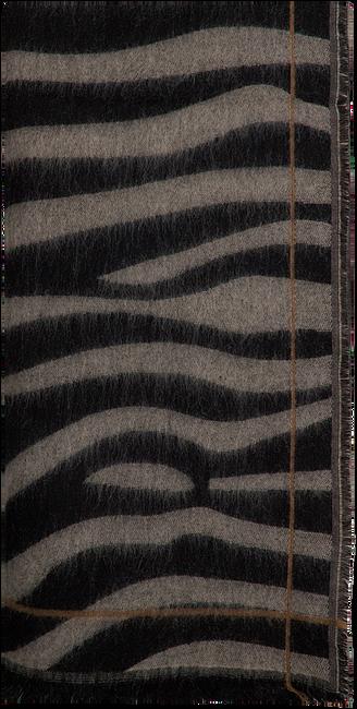 Braune NOTRE-V Schal CIRA  - large
