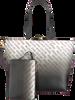 Schwarze VERSACE JEANS Handtasche LINEA 6 DIS 1  - small