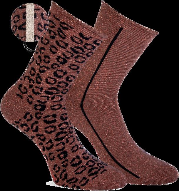 Braune MARCMARCS Socken WENDY  - large