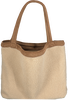 Beige STUDIO NOOS Shopper TEDDY LAMMY MOM-BAG  - small