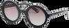 Schwarze IKKI Sonnenbrille TATE  - small