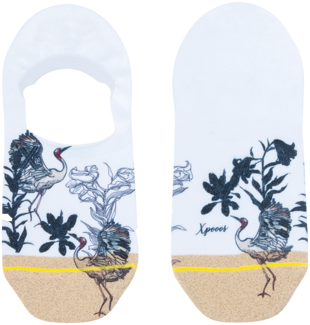 Mehrfarbige/Bunte XPOOOS Socken KYRA  - large