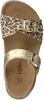 Goldfarbene KIPLING Sandalen NORELLA 1  - small