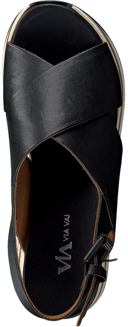 Schwarze VIA VAI Sandalen 5201038 - large