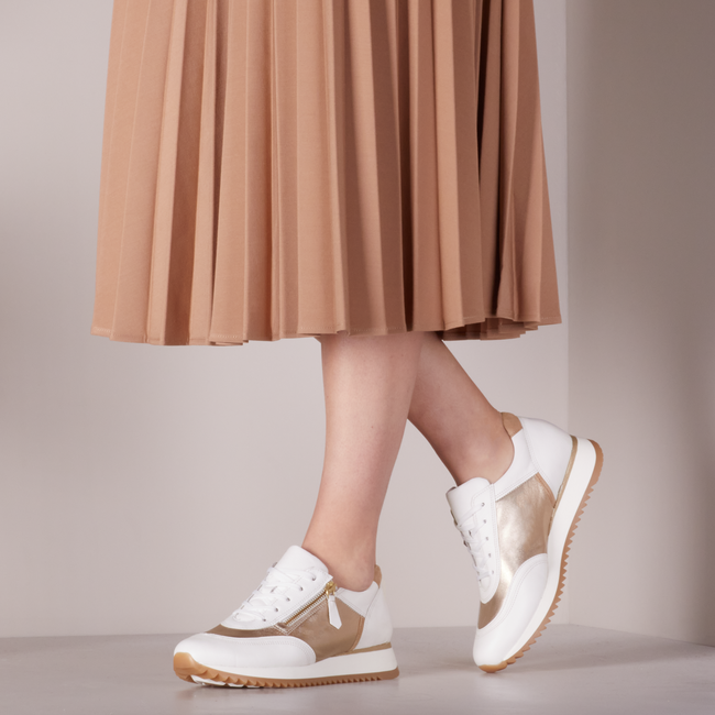 Weiße GABOR Sneaker low 035  - large